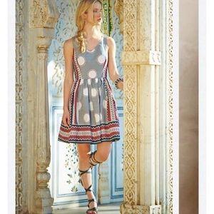 Anthropologie Maeve Moonsong Dress Sz 10